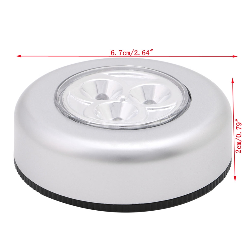 Home Outdoor Night Trunk Battery Wall Car Emergency Light Touch LED Lamp