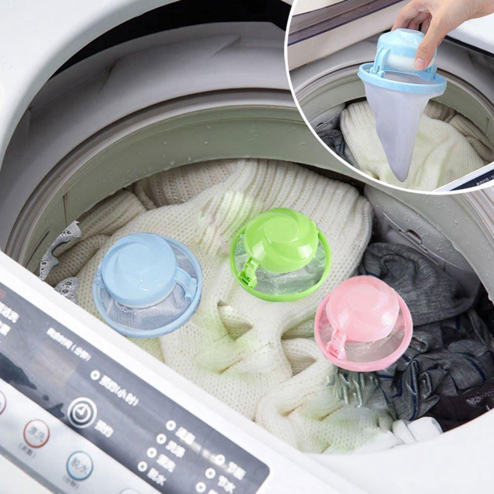 Waschmaschine schwimmende Pet Fur Catcher Wäsche Hair Lint Catcher Remover