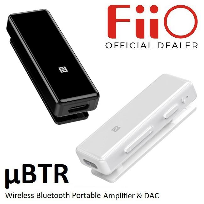 FiiO μBTR Wireless Bluetooth Portable Headphone Amplifier & DAC