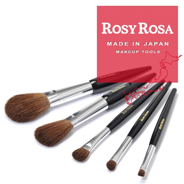 TW Collection]❤iKIREI❤ROSY ROSA Kumano Makeup Brush (5 Type ...