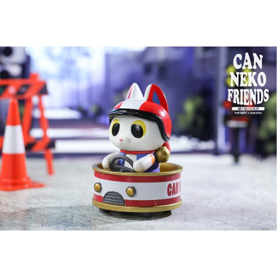 Pop Mart Konatsu Can Neko Friends Mini Figure Taiyaki
