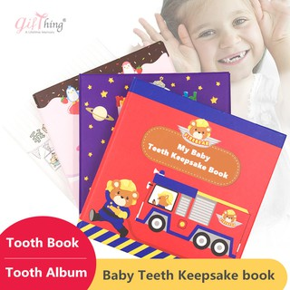 Tooth Fairy Box by GIFTHING Baby Tooth Box Collection Pirate Fantasy,Kids Keepsake Organizer Gift for Preserve The Childhood Memories