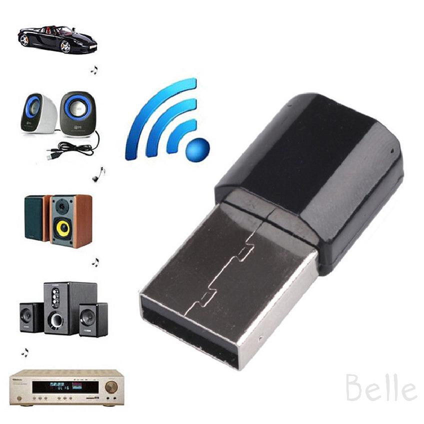 DC5V Wireless USB Mini Bluetooth 4.0 Aux Stereo Audio Music Car Adapter Receiver