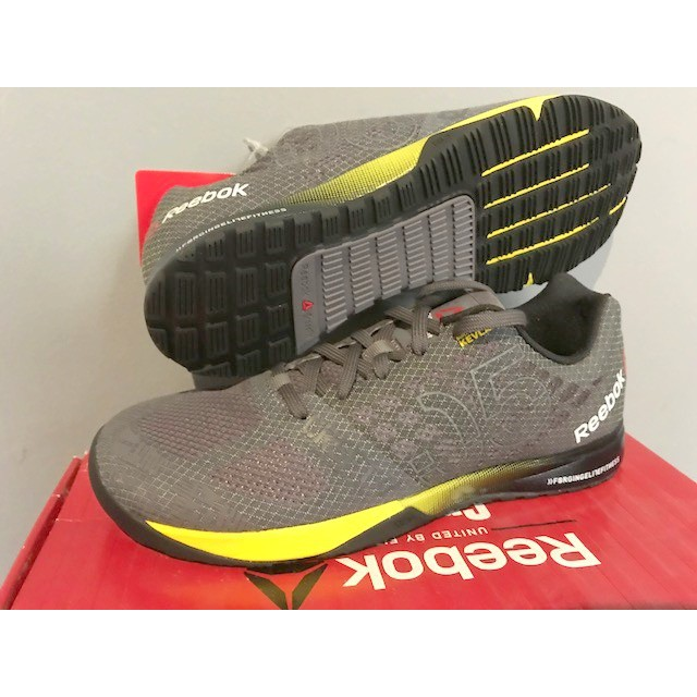 ba138baae72b REEBOK AQ9343 CROSSFIT NANO 5.0 FIT FITNESS GYM TRAINERS SNEAKERS FOOTWEAR