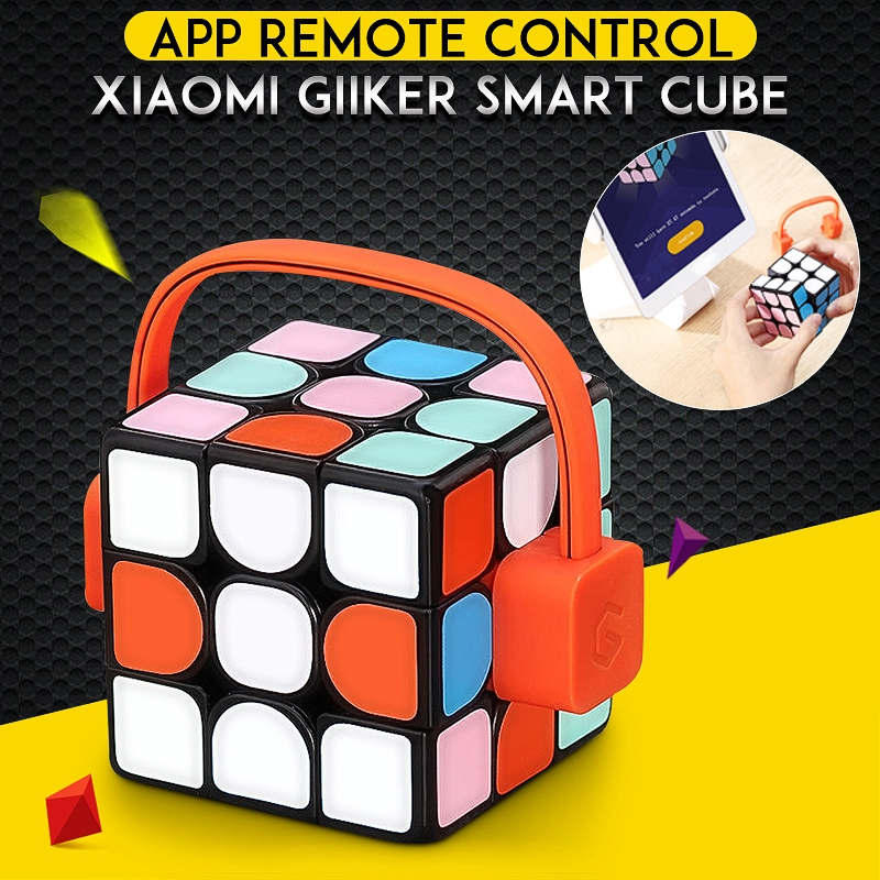 Smart Electronics Consumer Electronics Dynamic Xiaomi Mijia Giiker Magnetic Cube M3 Magic Rubik Puzzles Educational Toys For Kids Adult Work With Giiker Phone App