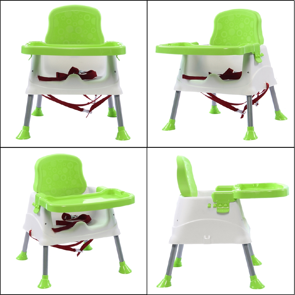 Adjustable Baby High Chair Infant Toddler Feeding Booster Seat