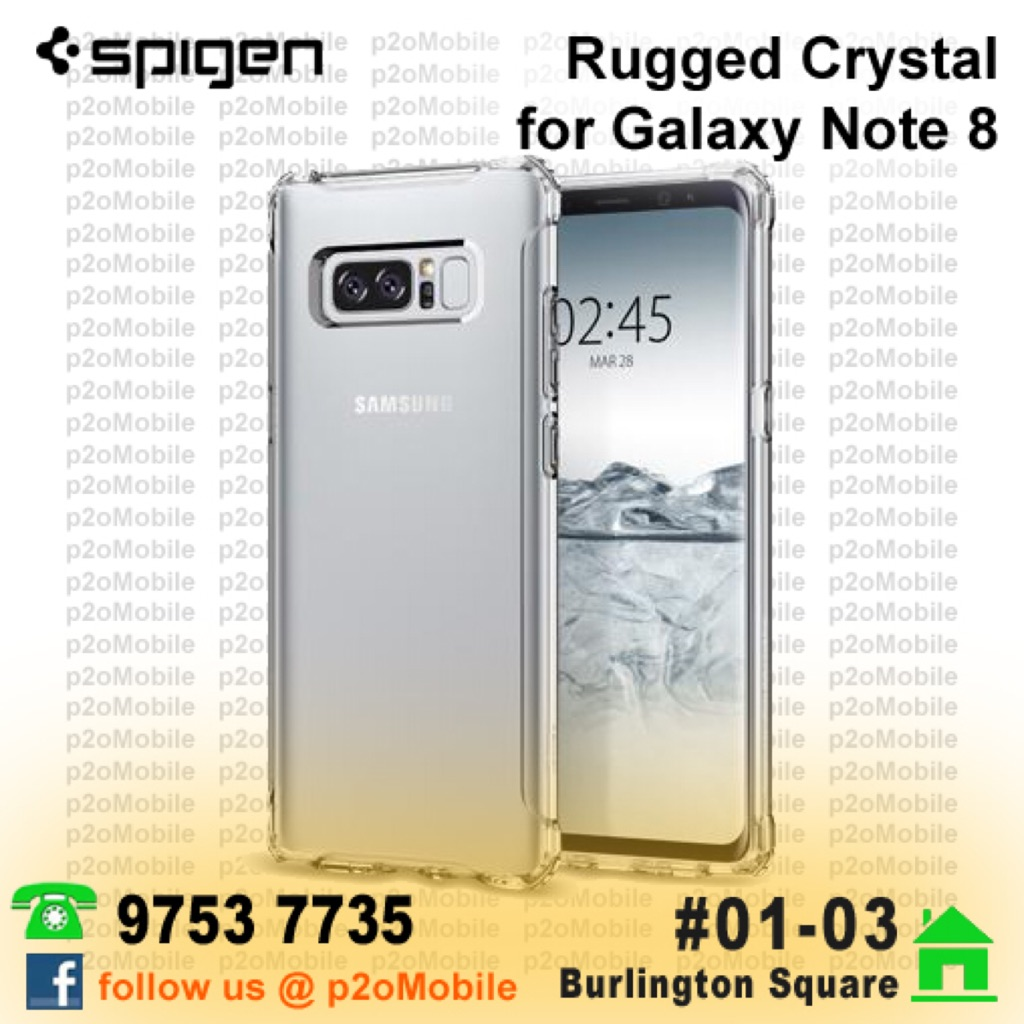 Spigen Rugged Armor Extra For Galaxy Note 8 Shopee Singapore Thin Fit Samsung 5 Hardcase Tipis Original