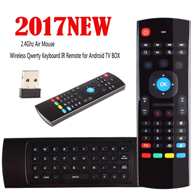 Fashiongo Air Mouse Keyboard Remote BOX IR TV Android