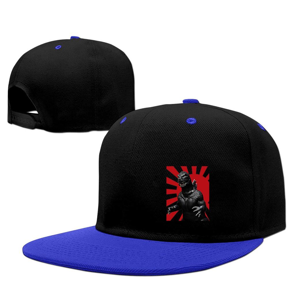 a4bb131de Funny Godzilla Snapback Hip Hop Baseball Caps Hat | Shopee Singapore