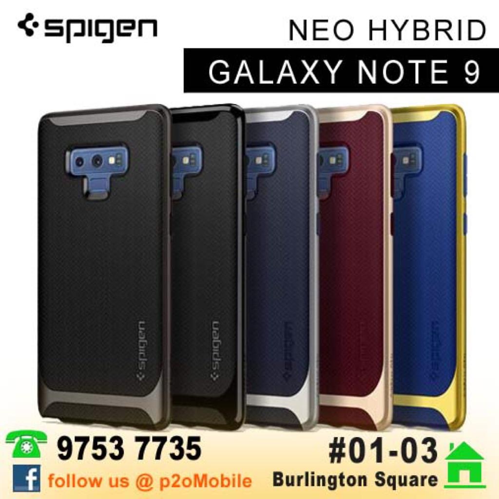 timeless design 30ba1 16e2f [Note 9] Spigen Neo Hybrid for Samsung Galaxy Note 9