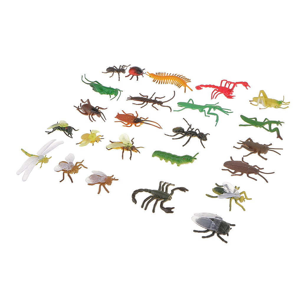 Butterflies Bees Girls//Boys Party Bag Fillers Kids Toys 24x Pullback Insects