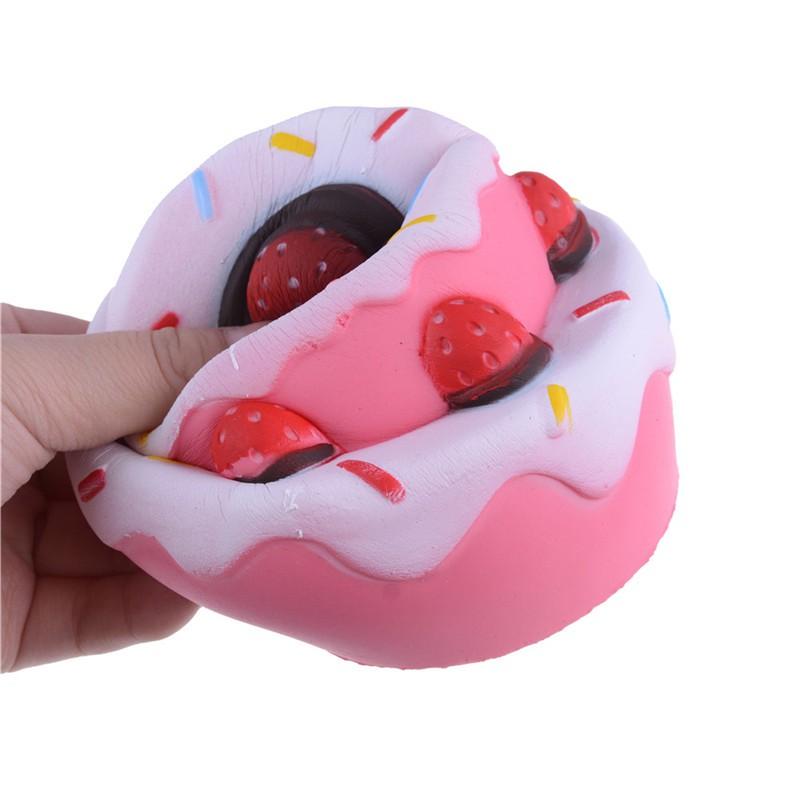 Jumbo Squishy Strawberry Cake Scented Super Slow Rising Stre