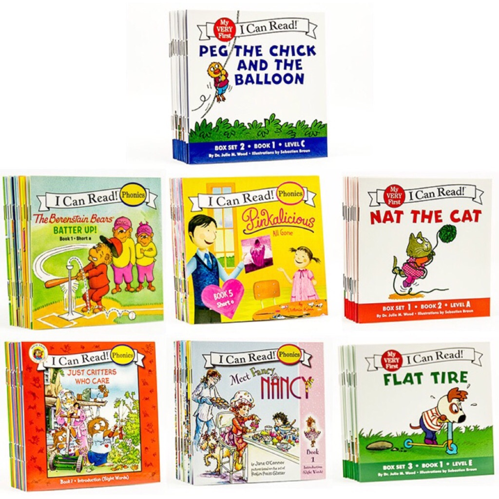 💥Set of 12 - I Can Read My Very First Phonics Set - Wholesale price