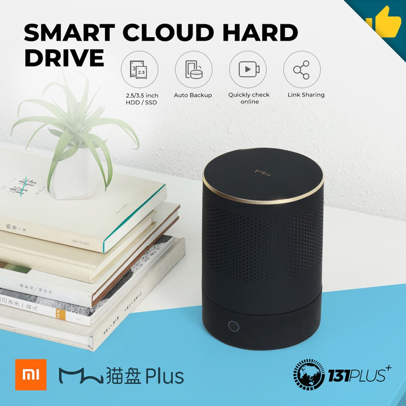 Original Xiaomi CatDrive Shared Smart Wireless Hard Drive 1TB For Smart Home
