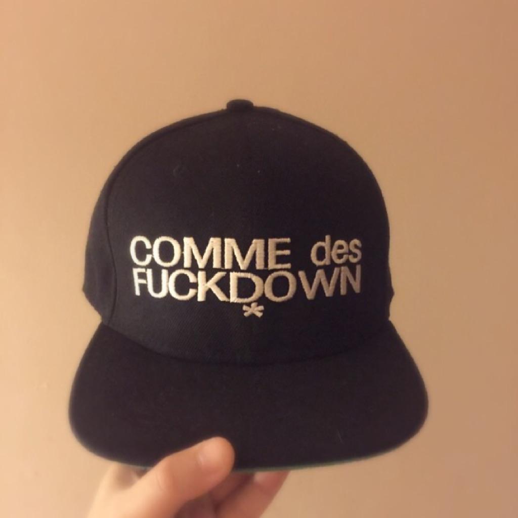 9093767f425 Comme Des Fuckdown SnapBack