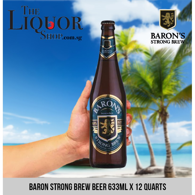 Baron Strong Brew Beer 633ml X 12 Quarts