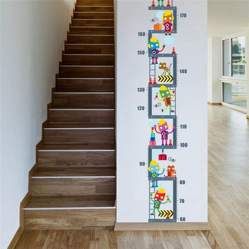 Room Decor Growth Chart Wall Decal Art