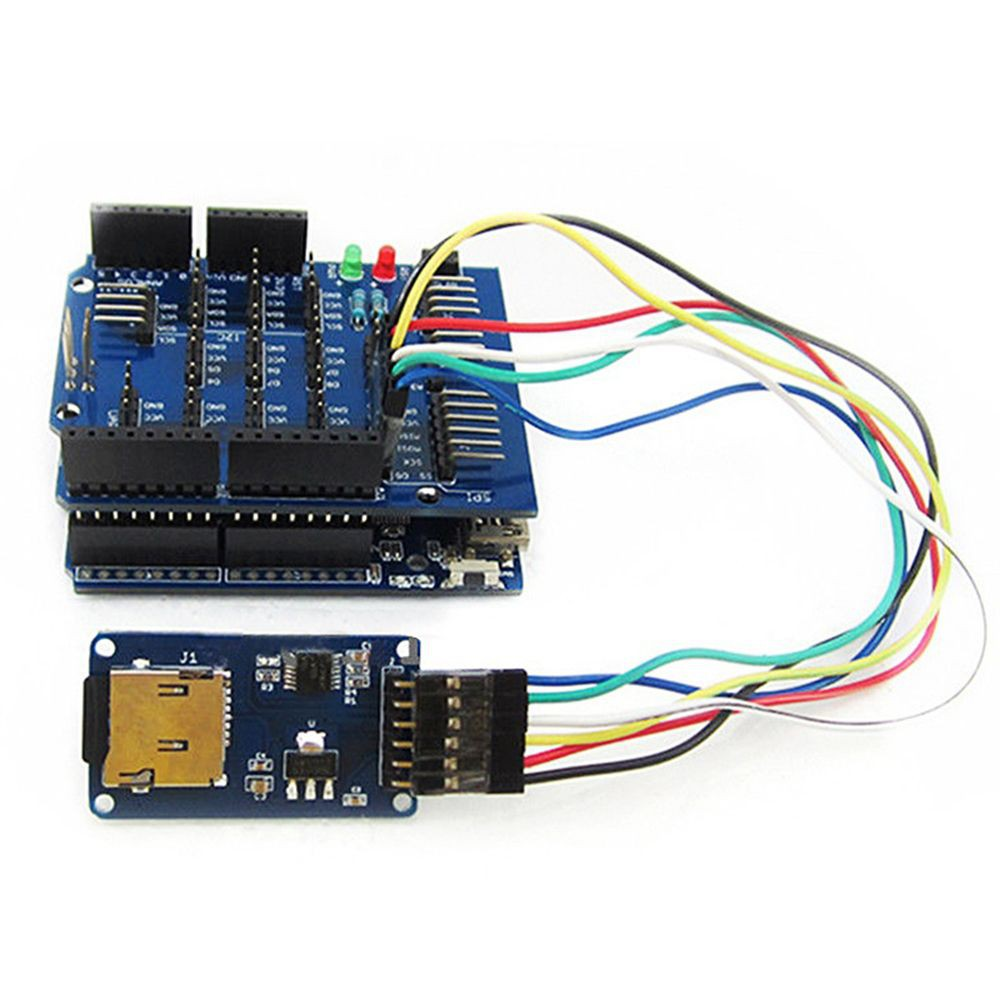 1//2//5//10pcs Write SPI Interface Arduino Shield Module Micro SD TF Card Reader