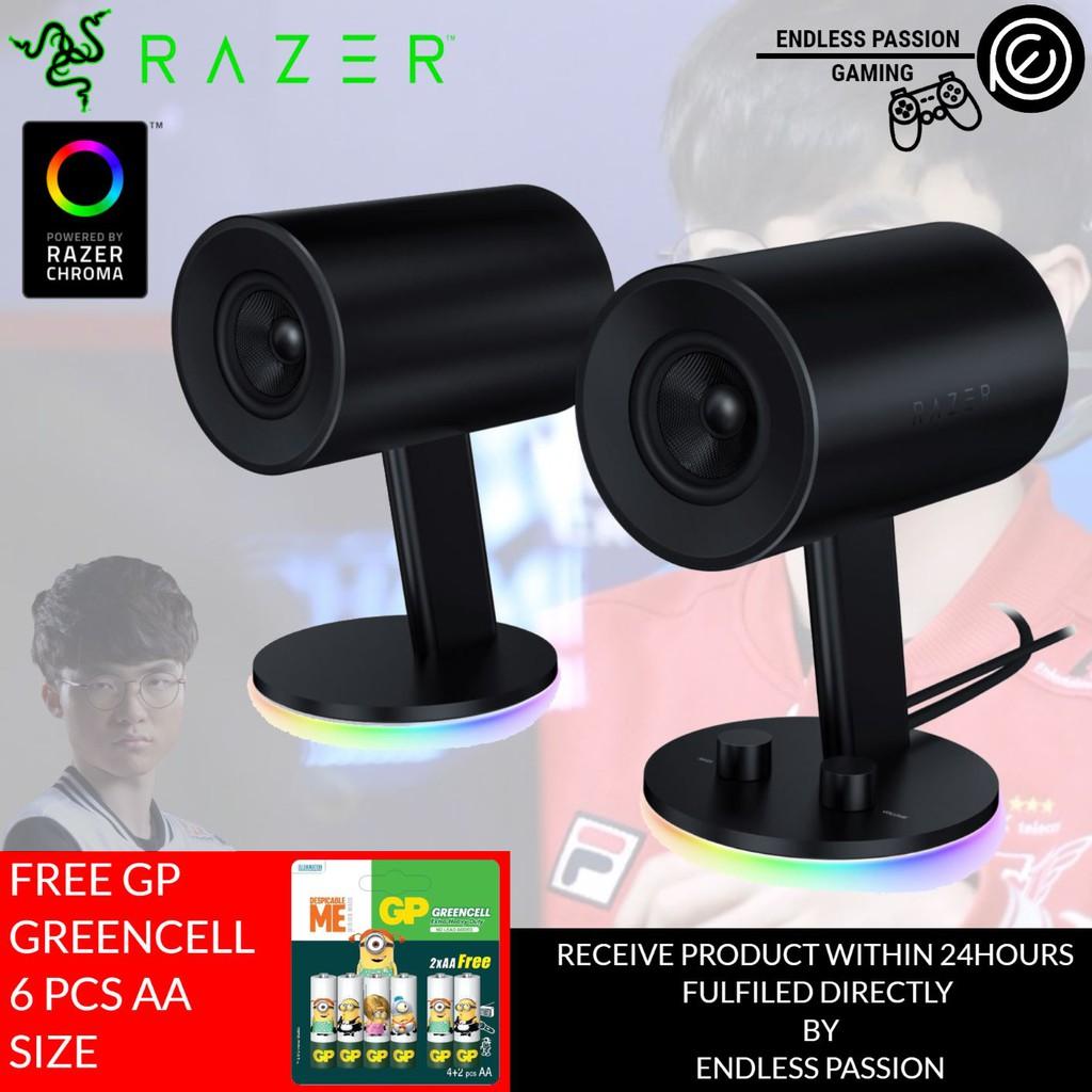 Razer Nommo Full range 2 0 gaming speakers for PC | Shopee