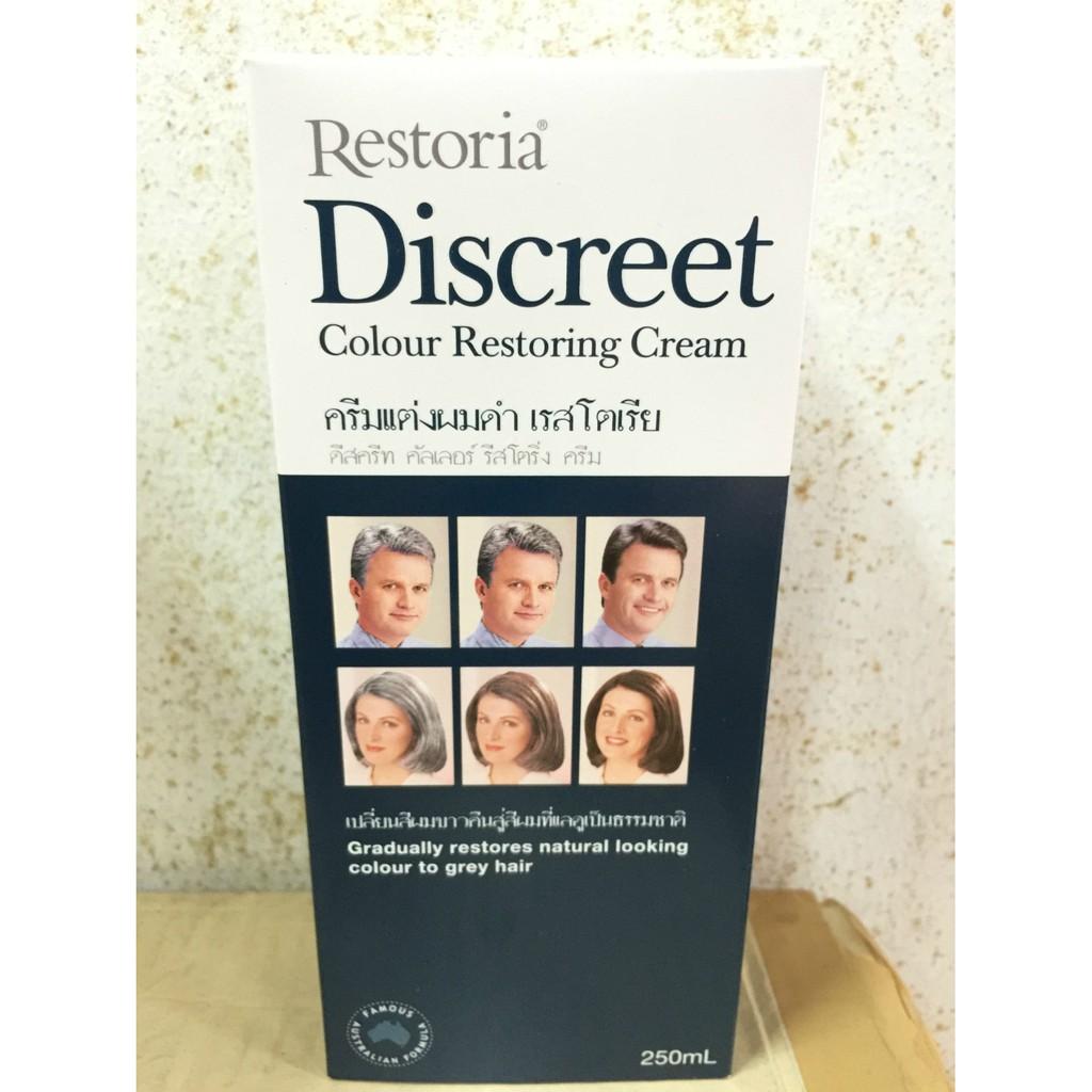 044df33c0663 Restoria Discreet Colour Restoring Cream 250ML | Shopee Singapore
