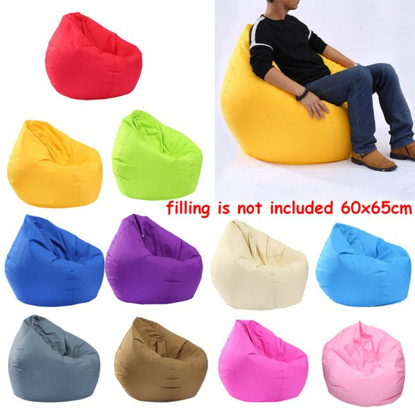 Sensible 1pc Bean Bag Cover Large Big Arm Chair Garden Outdoor Gamer Gaming Kids Beanbag Cushion Cover Without Filling Cushion Cover