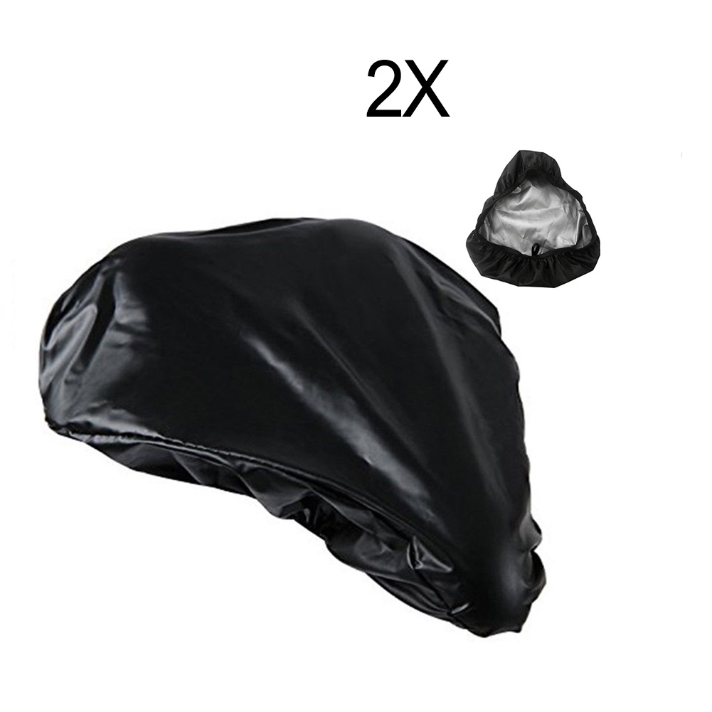 3pcs Cycling Waterproof Bike Seat Rain Cover Protective Bicycle Saddle Cover