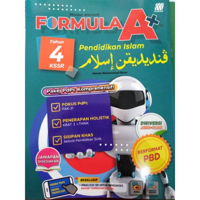 Modul Aktiviti Formula A Pendidikan Islam Tahun 4 Shopee Singapore