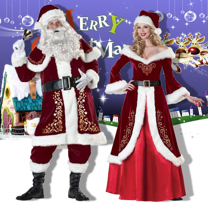 3a0c8255418 Christmas Party Man Woman Clothes