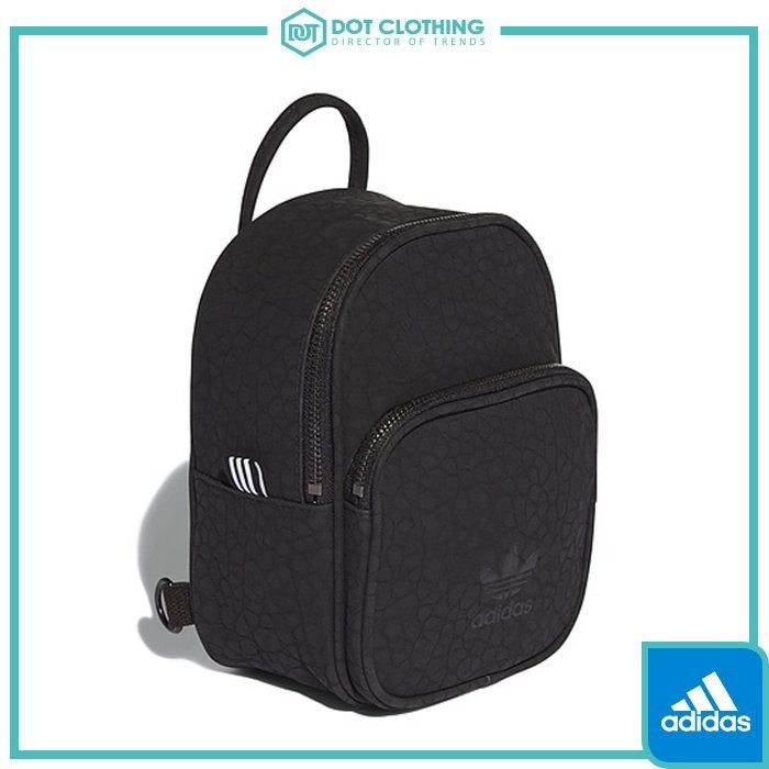 9a79af52b3 DOT Focus Adidas originals Clover Yeezy blue black burst Pattern Small Logo  Backpack AY7838