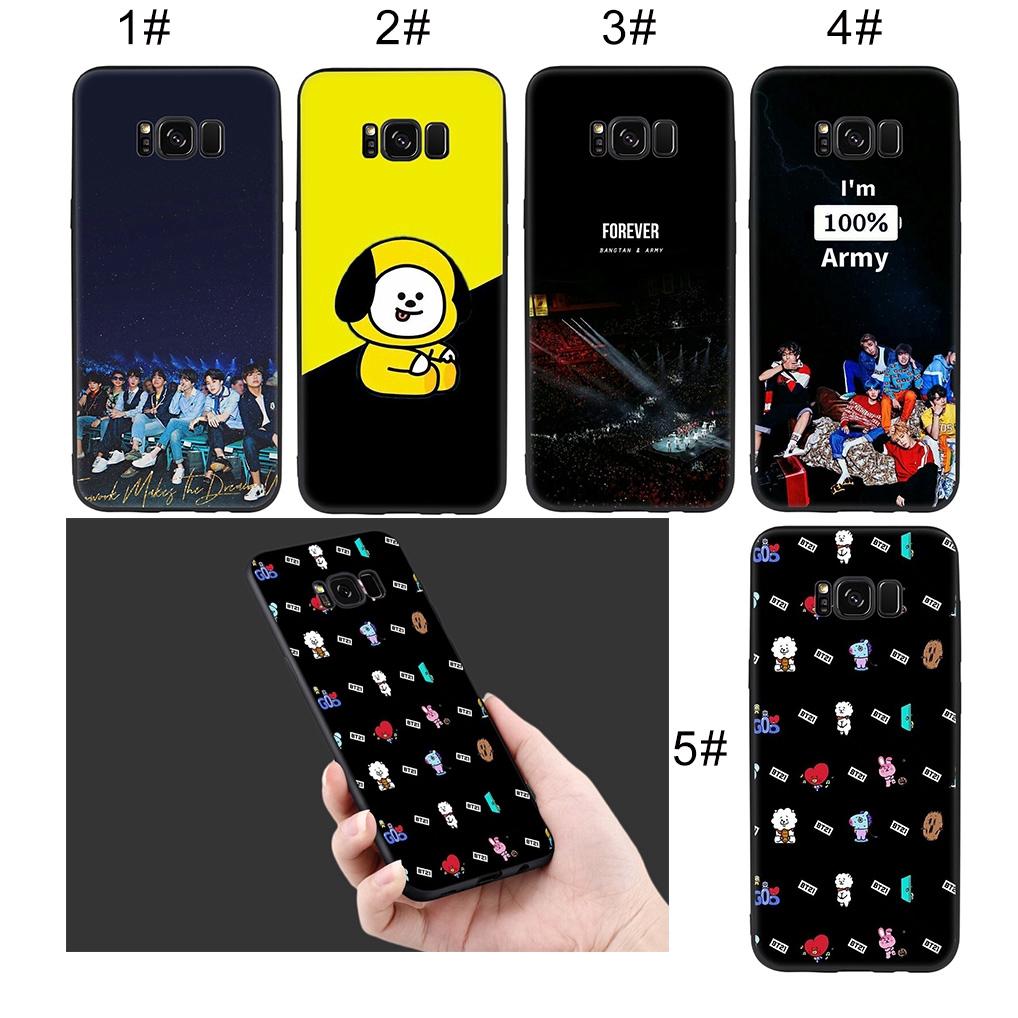 Samsung Galaxy S9 S8 Plus S7 S6 Note 8 9 Soft Case Bts Jimin Suga