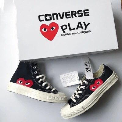 sin embargo Faceta Refrigerar  Converse 1970s Play Love Joint Canvas Shoes 100% Original | Shopee Singapore