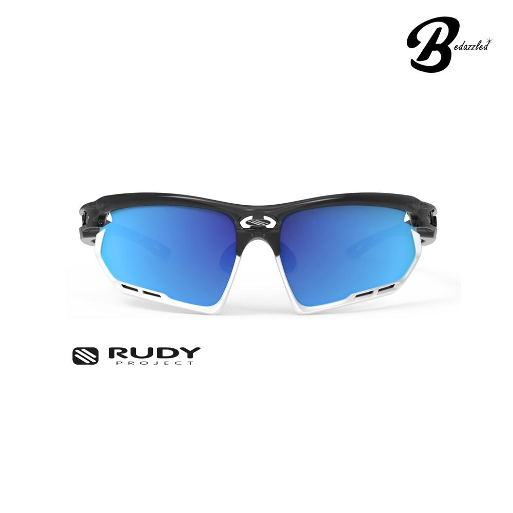 OCCHIALI RUDY PROJECT FOTONYK Crystal GraphiteRp Optics Multilaser Blue