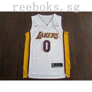best loved 04703 60f55 New season NBA Nike Edition Lakers 0# White Kuzma Jersey ...