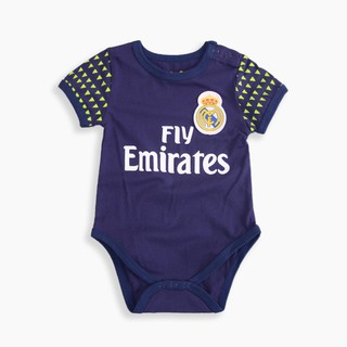 reputable site e7f95 cb641 Newborn Baby Cotton Romper Real Madrid Jersey Infant Toddler ...