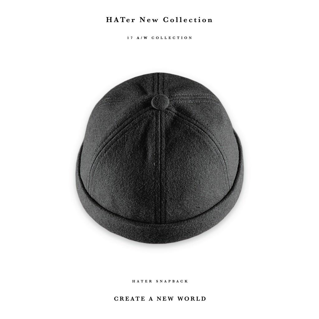 Hater Snapback Black Blue Fashion Adjustable Hat Cap