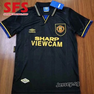 quality design 948a8 83ef0 Top Quality Manchester United Retro Jersey Short Sleeve Men ...