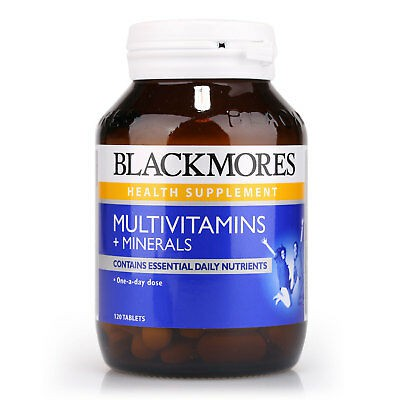 Blackmores MultiVitamins and Minerals 120 tablets