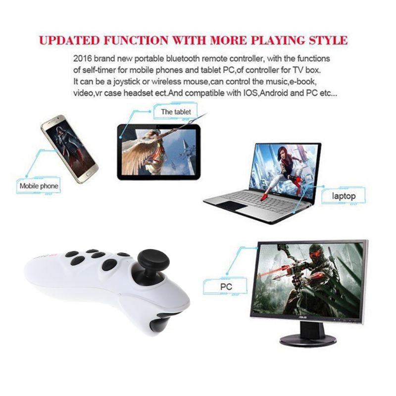 ☀S☀Wireless Bluetooth VR Controller Remote Gamepad Joypad For