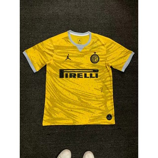 new concept d34aa b6f7c 19/20 Newest Top Quality Inter Milan yellow Soccer top Men ...