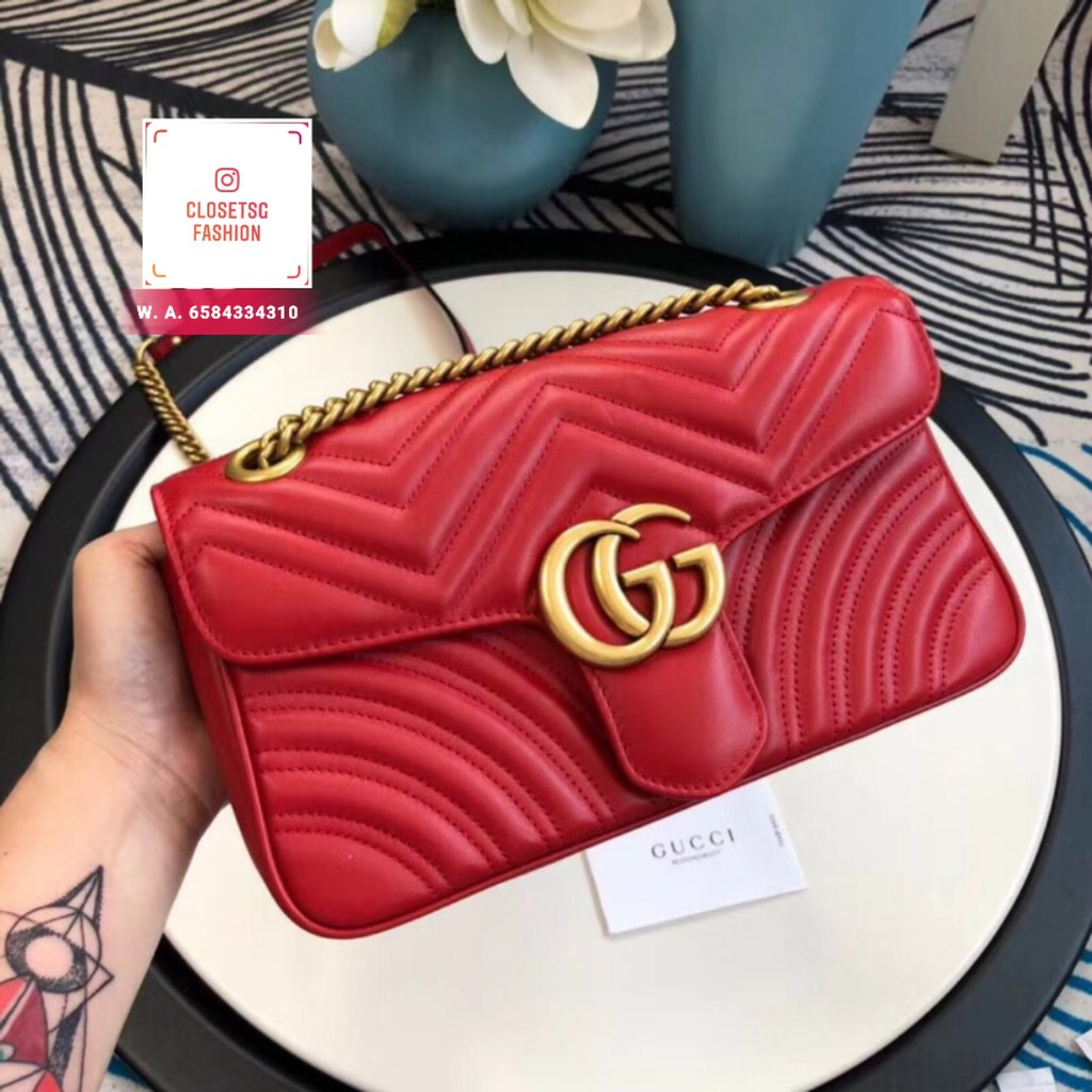 eb4f9f5c1142 marmont bag - Branded Bags Price and Deals - Women's Bags Apr 2019 | Shopee  Singapore