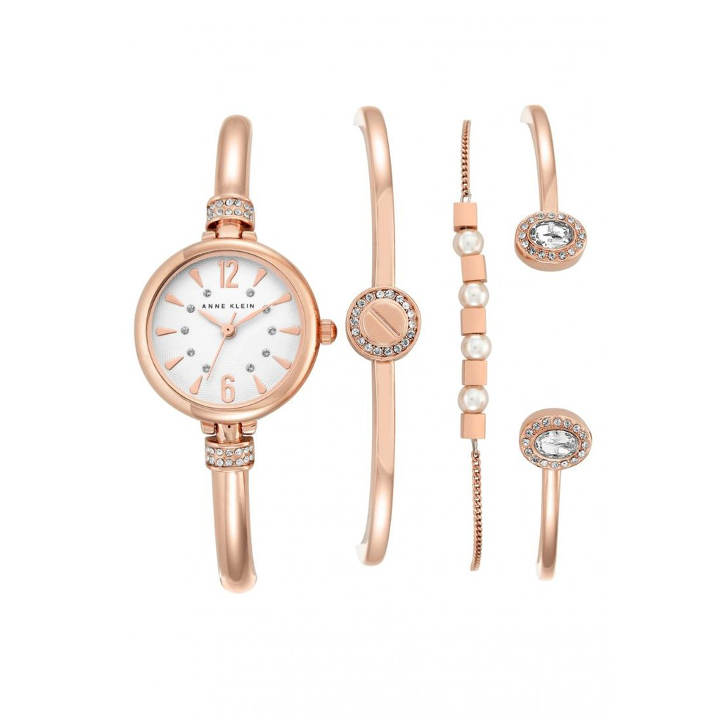 Anne Klein Ladies Box Set Swarovski Crystal Accented Ak 2338rgst Fossil Fs5182 Grant Sport Chronograph Stainless Steel Watch And Wallet Fs5336 Shopee Singapore