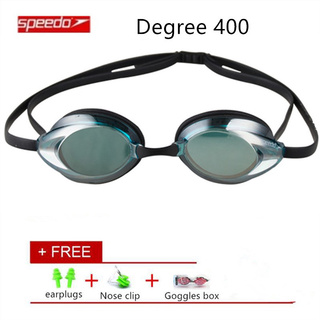 bb1266f167a4 Speedo Multi Optical Myopia Degree 400 Goggle Glasses Silicone PC ...