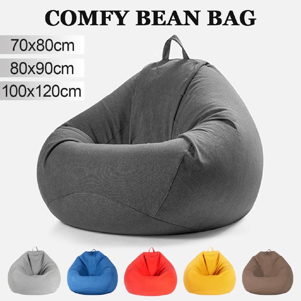 Bean Bag Cover Lazy Sofa Indoor Seat