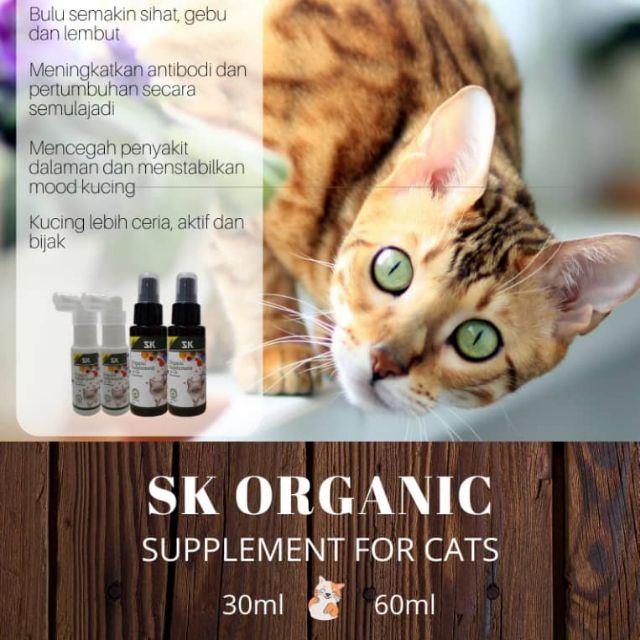 Vitamin Kucing Sk Organic Supplement Shopee Singapore