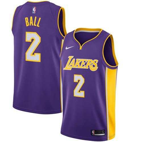 Nice Nike Lakers  1 JaVale McGee Purple NBA Swingman Statement Edition  Jersey Outlet  0d41bede5