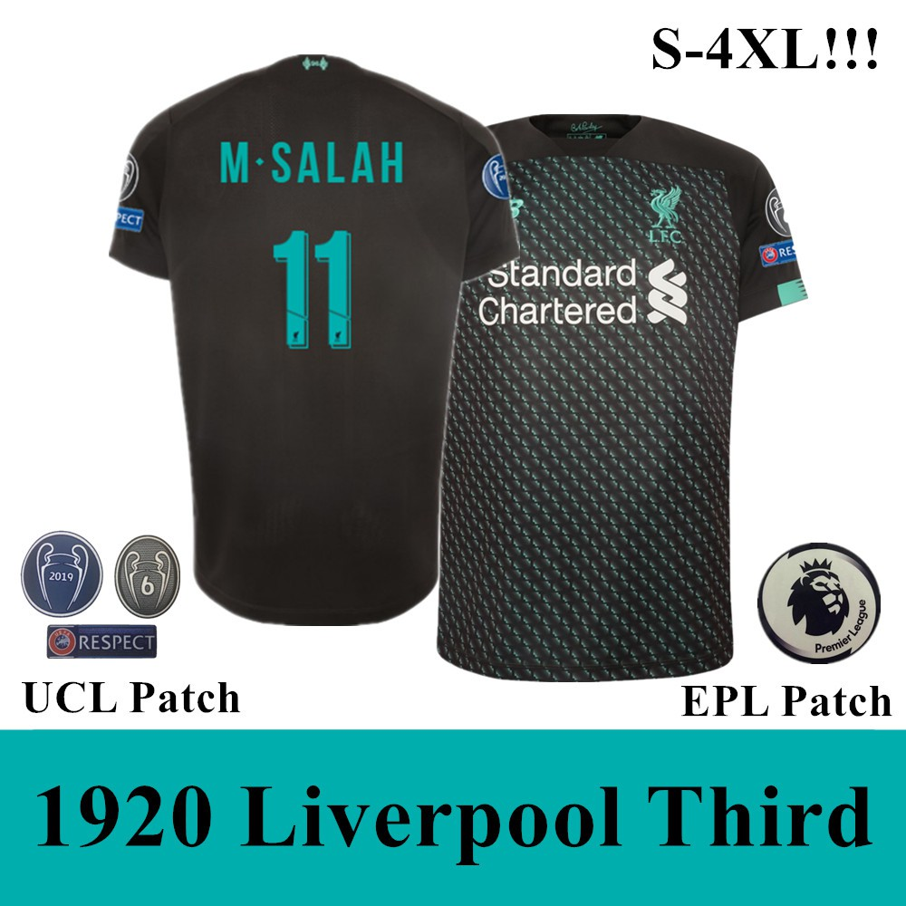 new product f524b 8bb9b 19-20 Top Quality Liverpool Third Soccer Jersey Football Jersey(M.Salah 11)