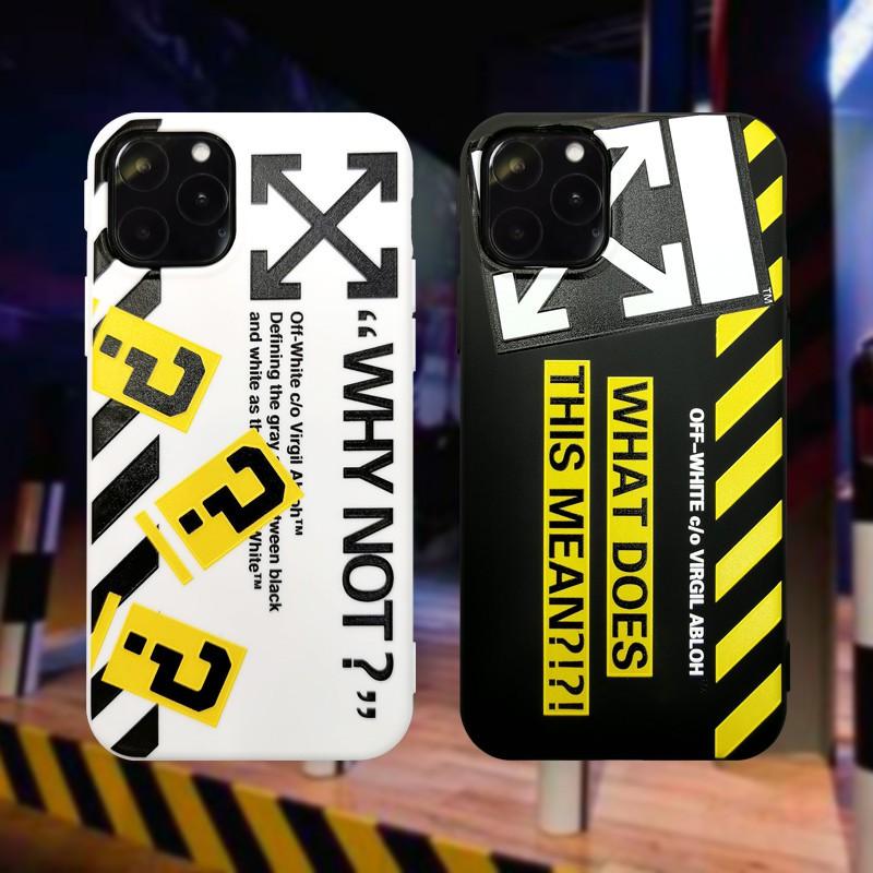 off white phone case iphone 8 plus
