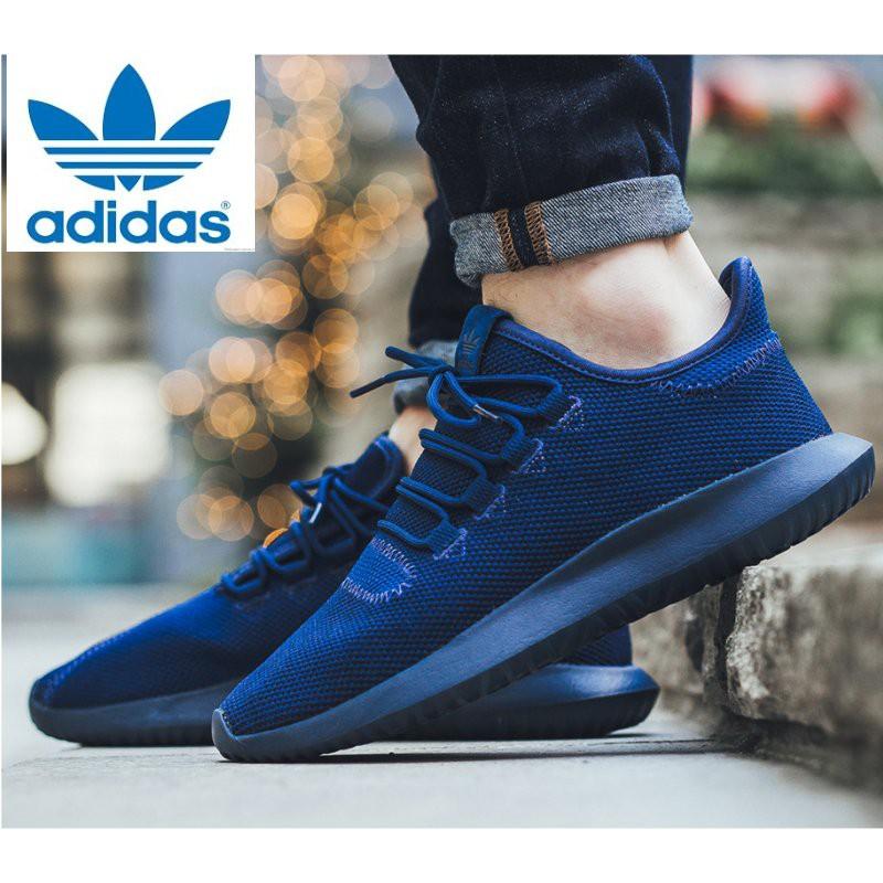ec0619bb4aa Adidas Unisex Originals Tubular Shadow Knit Shoes BB8825 Mystery Blue