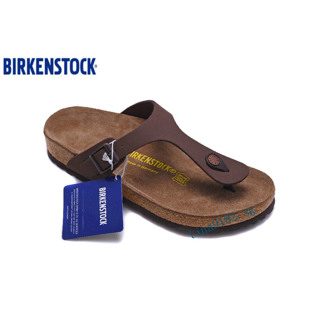 Shoes Beach Ready Gizeh Cork Sandals Menwomen Flip 801 Stock Flops Birkenstock VGzMpqSU