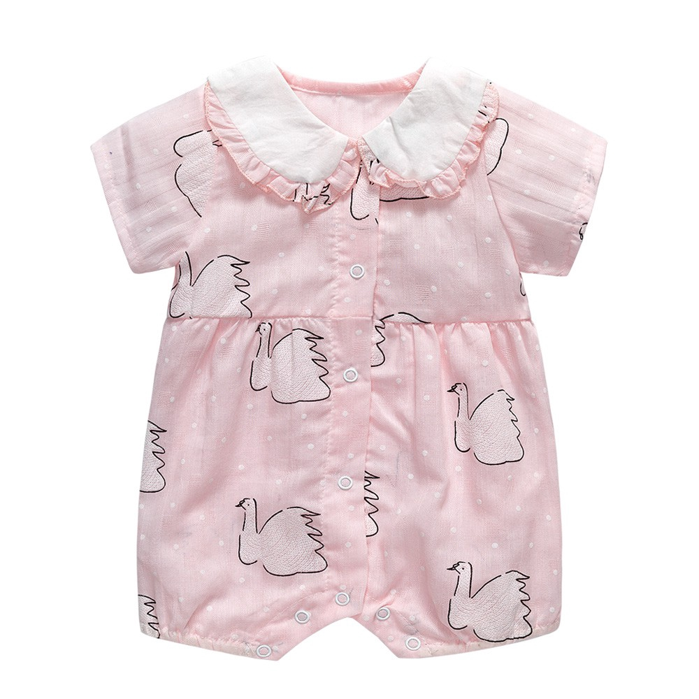 newborn 0-3m baby girls clothes bodysuit party daily playsuit  princess jumpers
